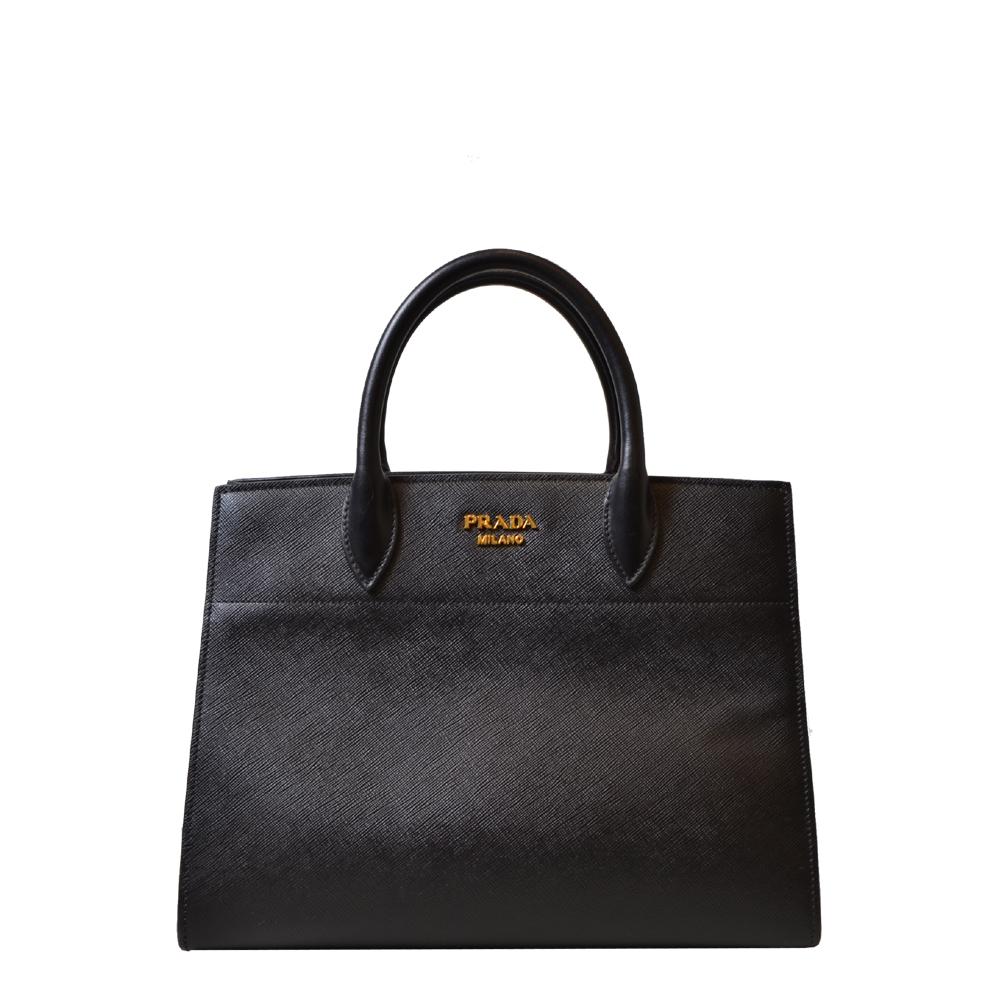 Prada Bag Black White Saffiano Kopie