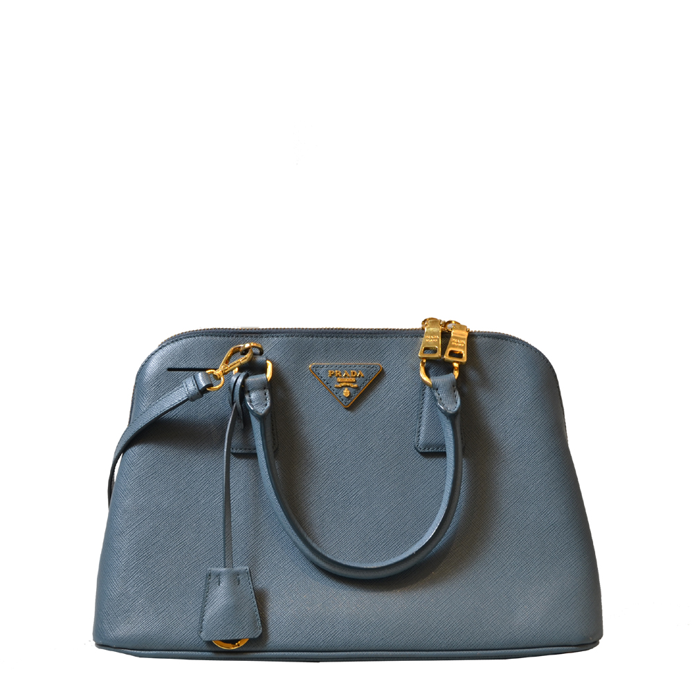 Prada Bag Lightblue gery RV Saffiano Kopie