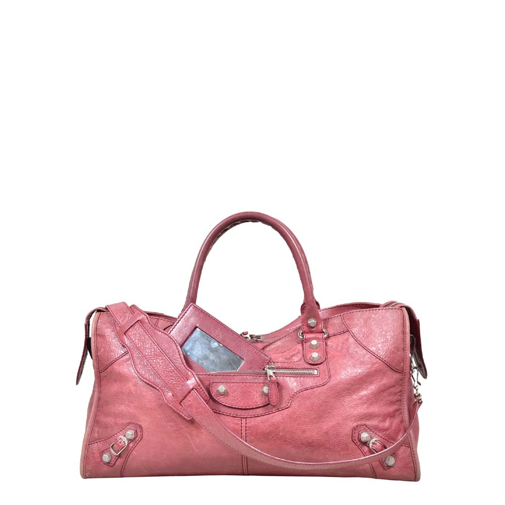 Balenciaga Bag Red gold Kopie