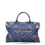Balenciaga City BAg Blue Leather ( 43 x 25 x 18 ) 650 Kopie