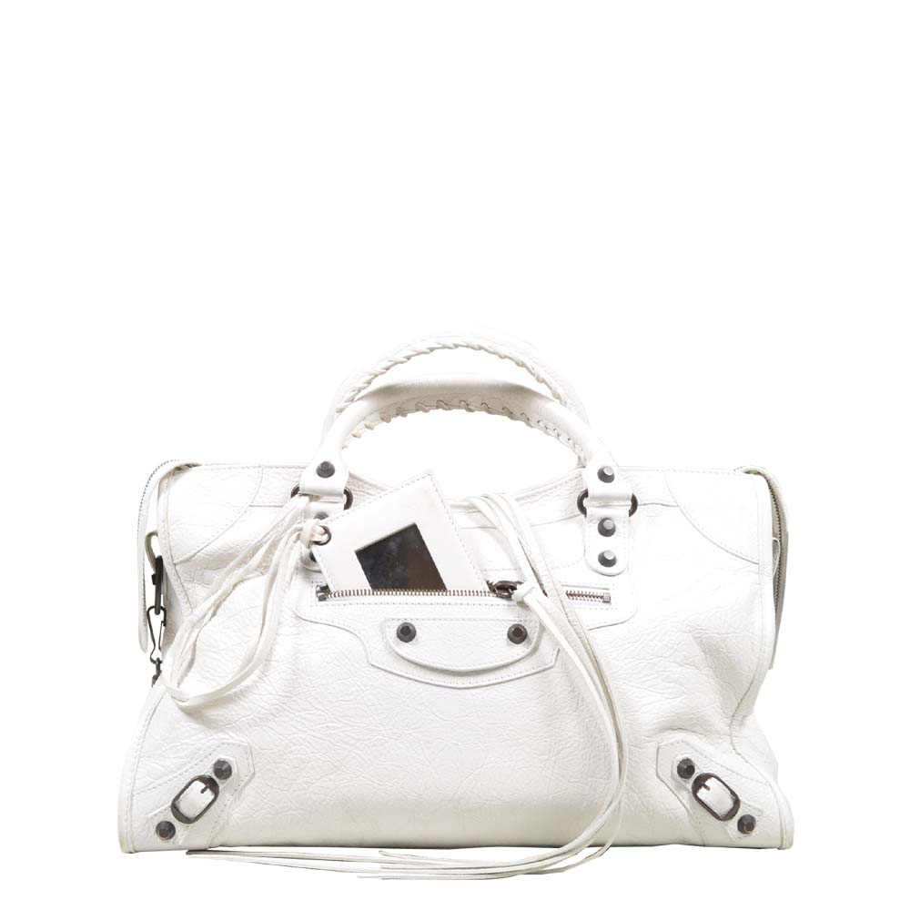 Balenciaga City Bag White Kopie