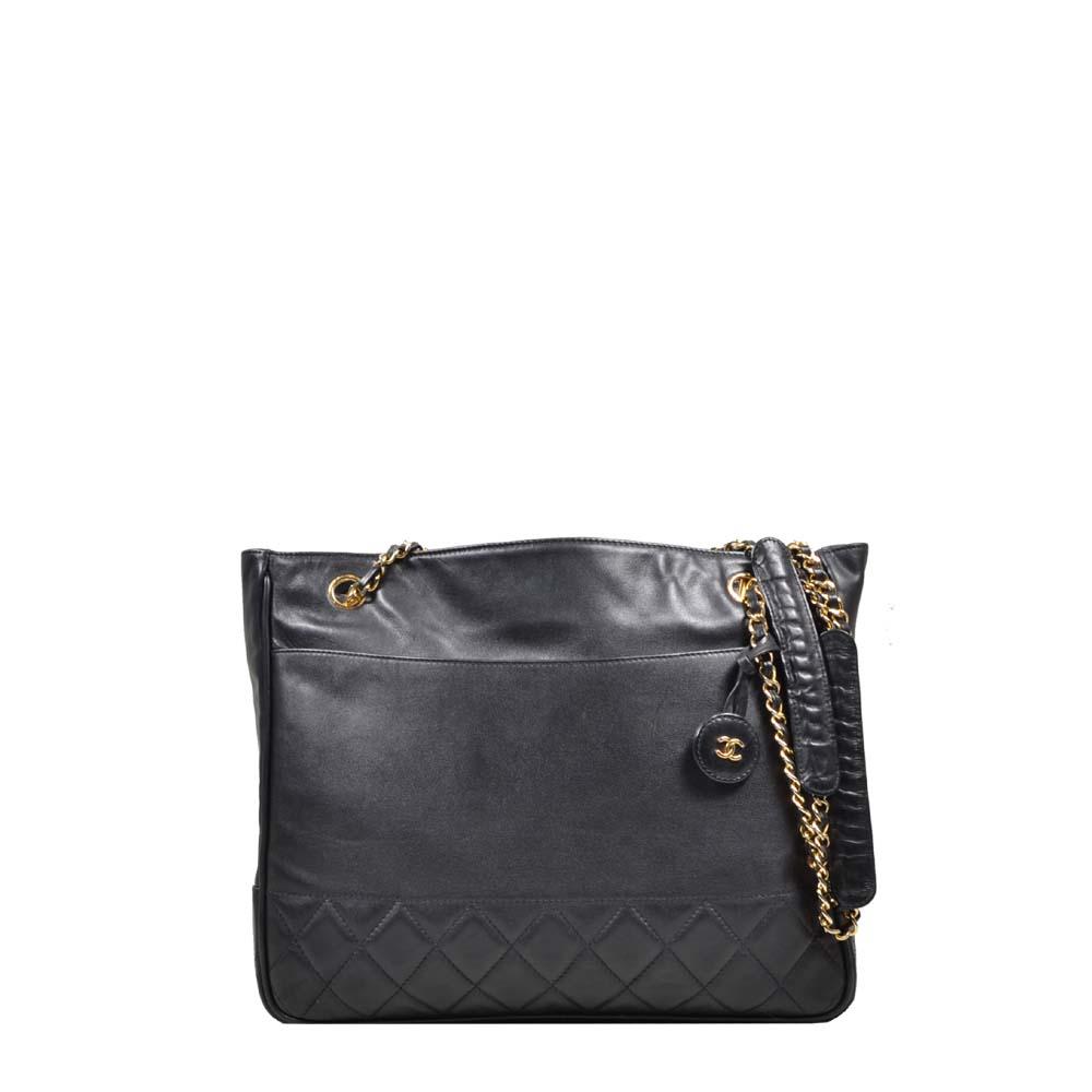 Chanel Shopper Black CC gold ( ) 2000 Kopie