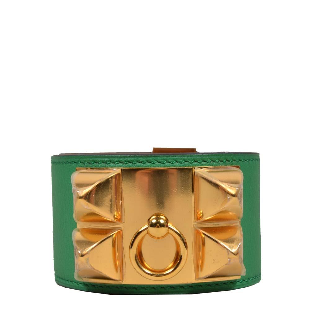 Hermes Bracelet Extreme Green Gold Kopie
