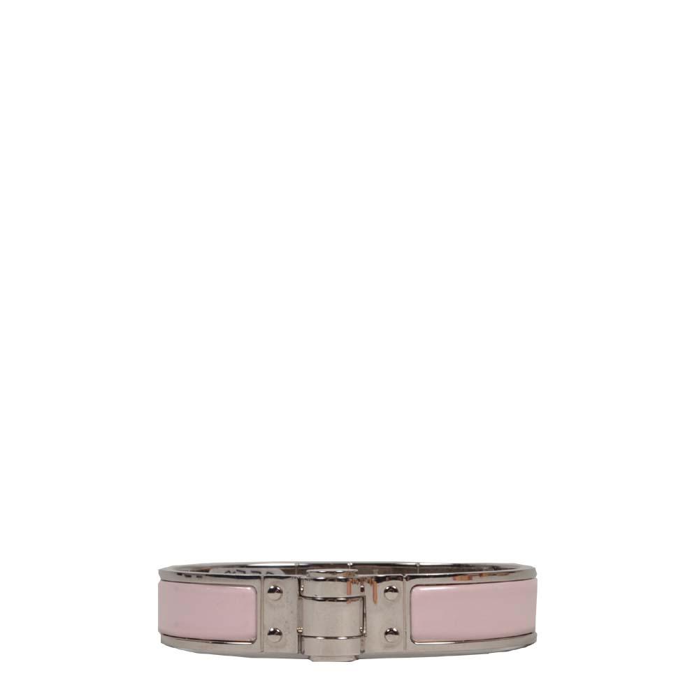 Hermes charniere bracelet rose silver Kopie