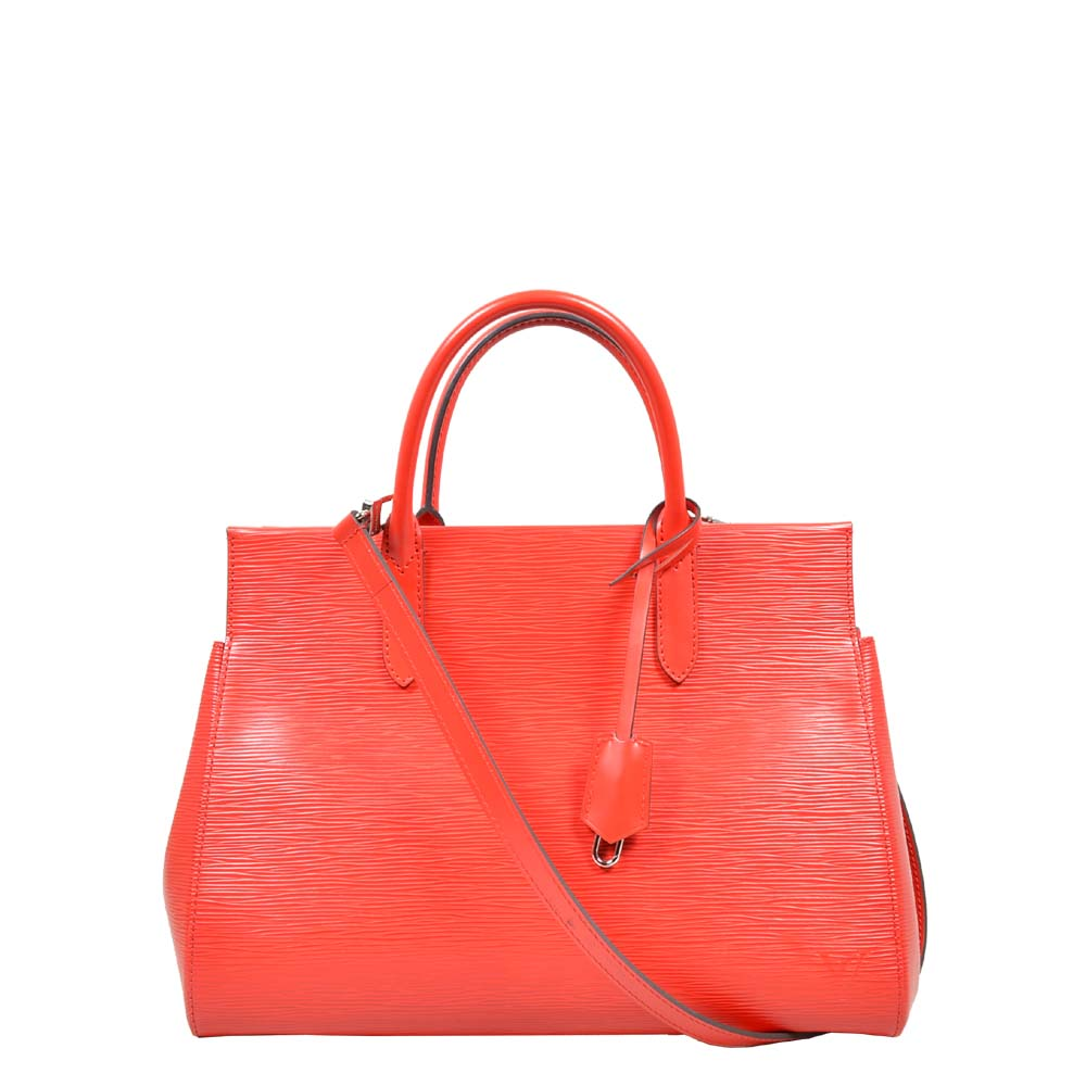 Louis Vuitton Marly MM Epi Leather Red with Shoulderstrap ( 34 x 24 x15 ) 1