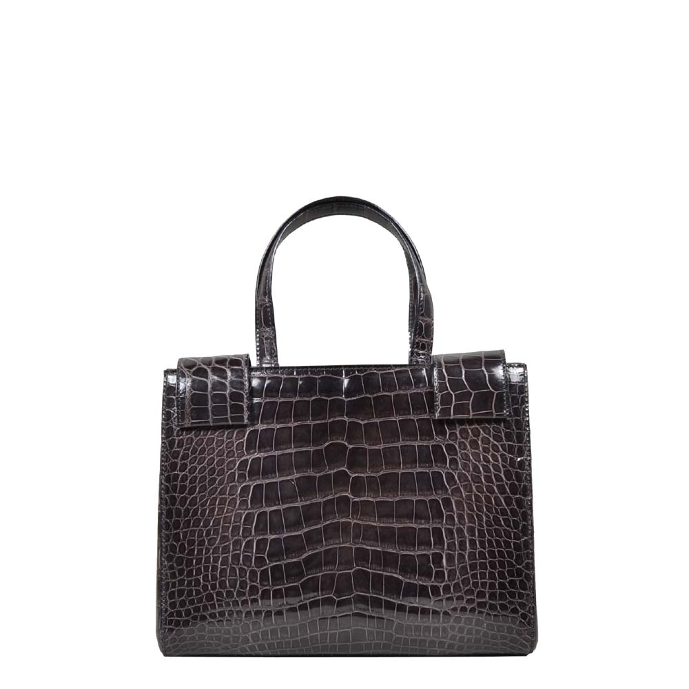 Prada Bag Crocodile brown ( 24 x 19 x 6 ) 3