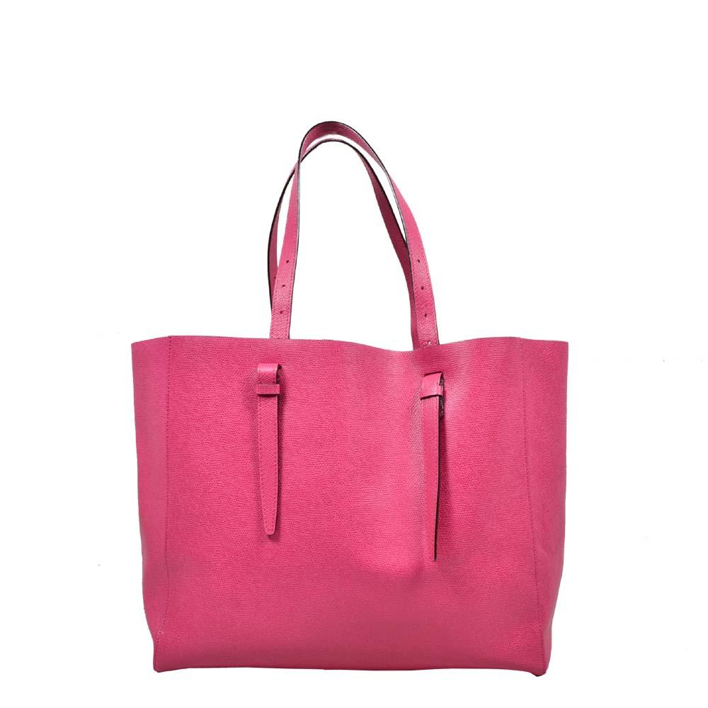 Valextra Shopper Pink ( 35 x 29 x 16 ) 1