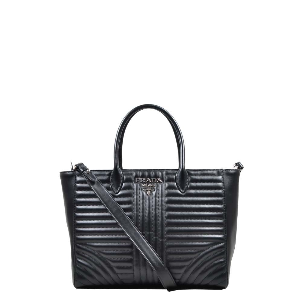 Prada Shopper swollen leather with shoulderstrap ( ) 1250 Kopie