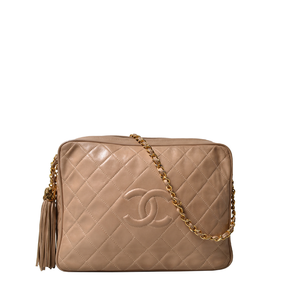 Chanel Vintage Bag Nappa beige