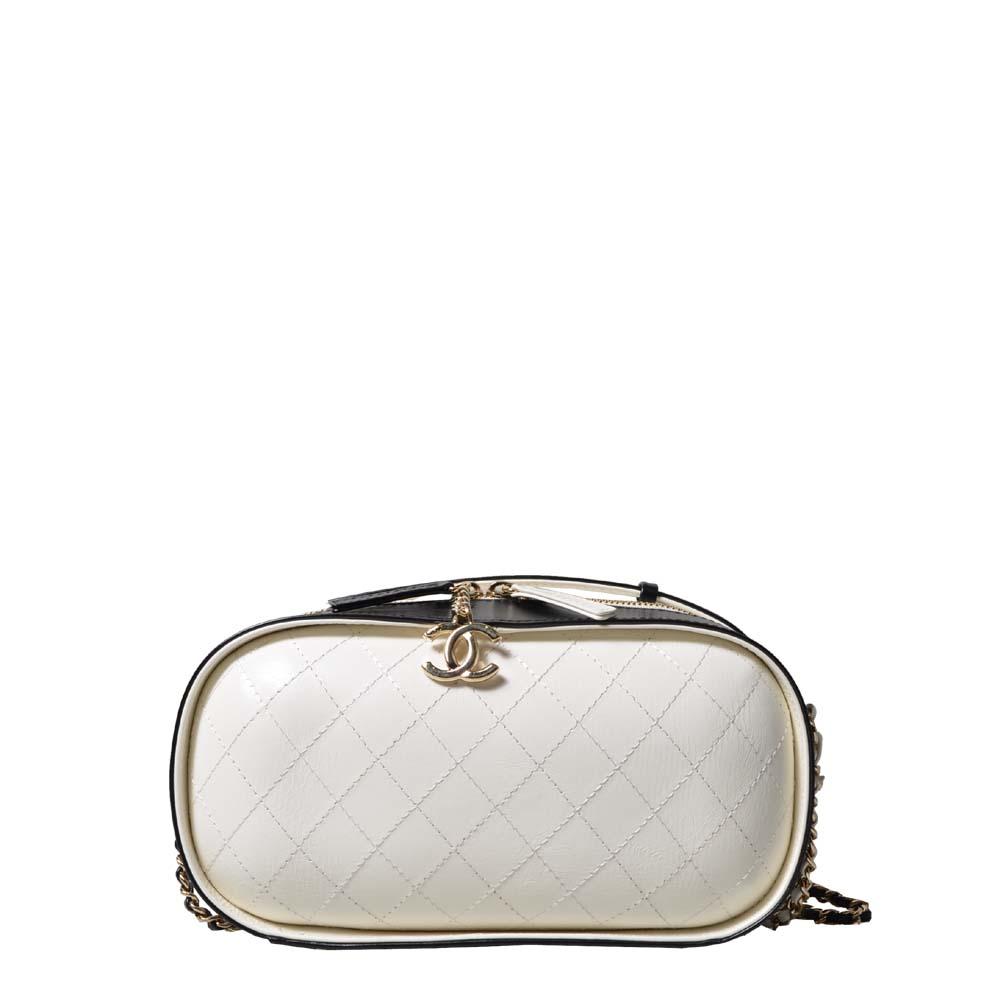Chanel Bag Vanity Case Black WHite_2 ( ) 3