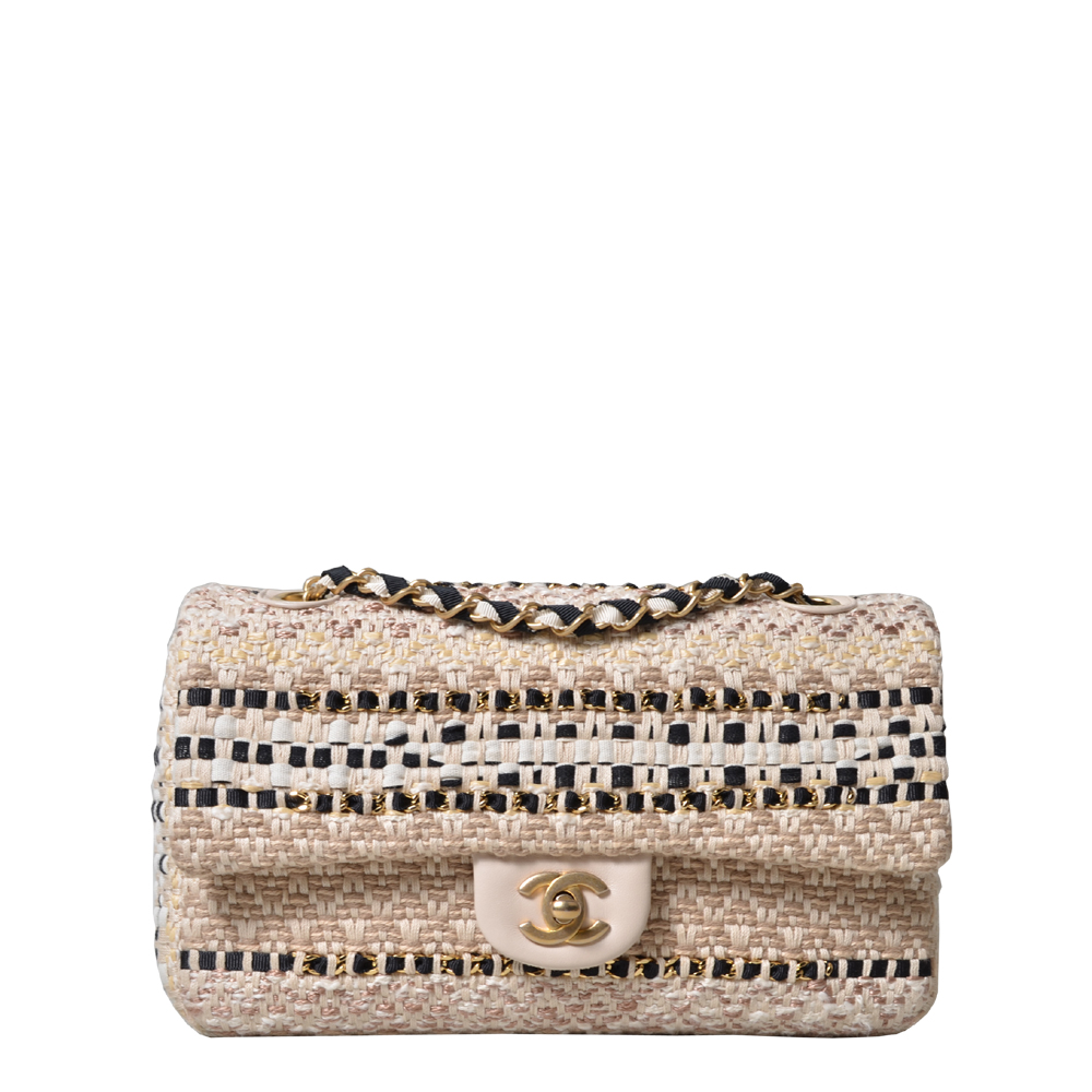 Chanel Timeless Tweed Boucle