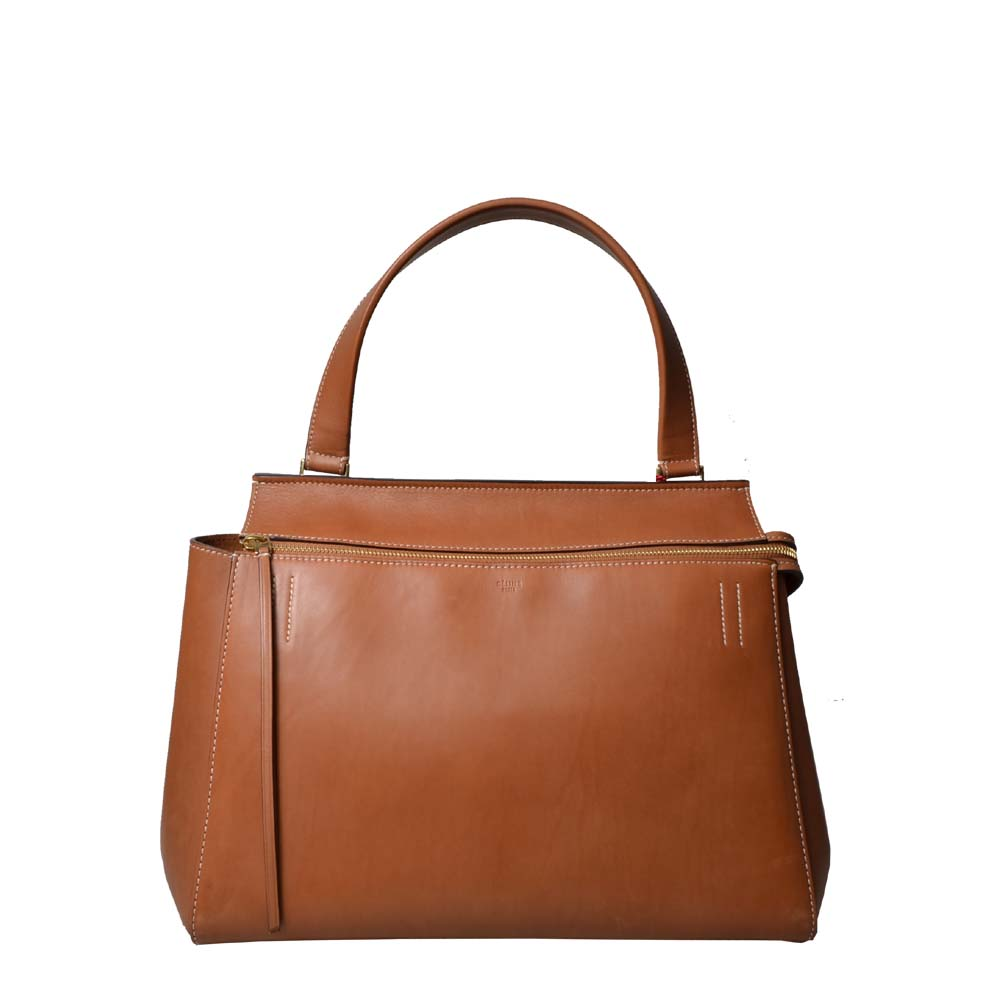 Celine bag Edge leather Congac Medium 1.200 ( ) – Kopie
