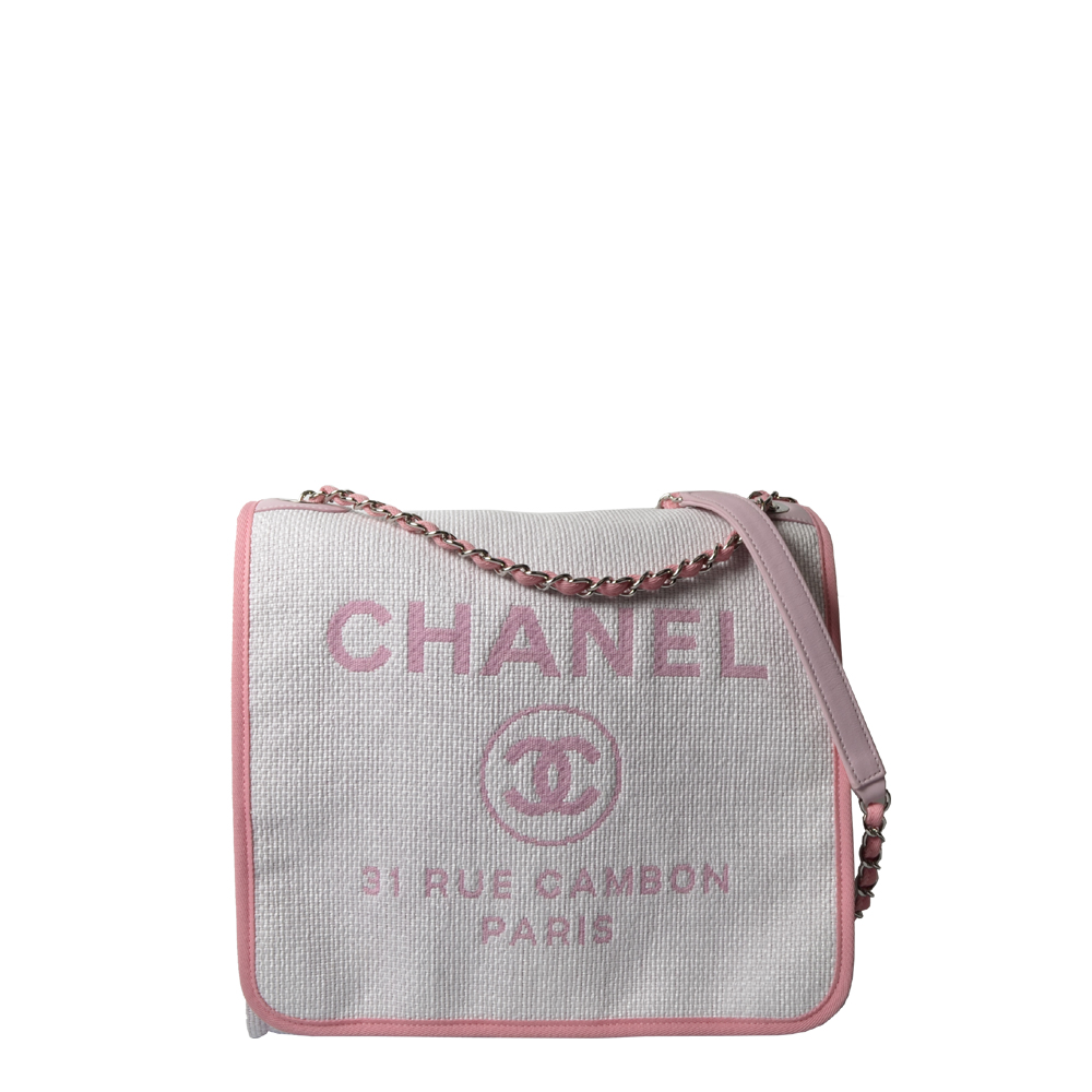 Chanel bag white rose Kopie