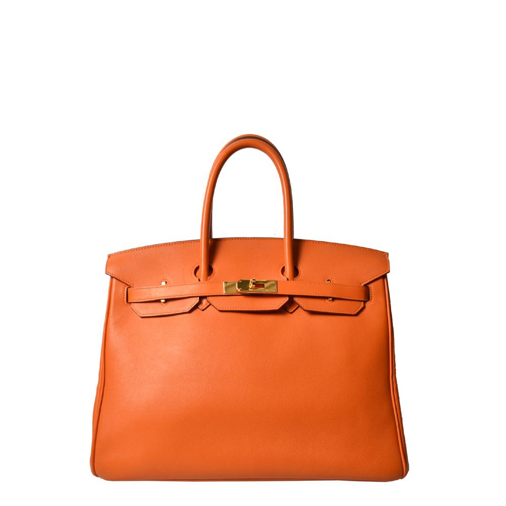 Hermes Birkin 35 Orange Gold ( ) Kopie