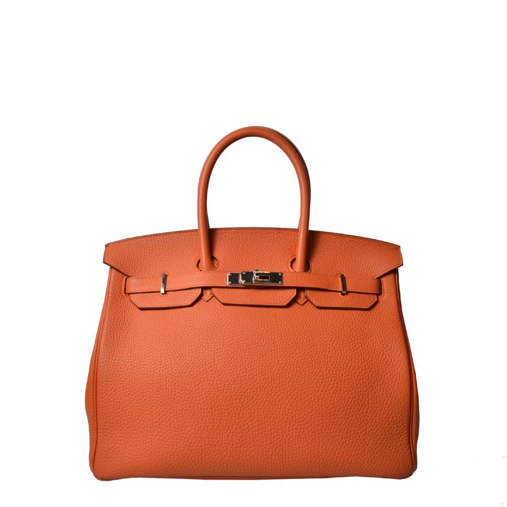 Hermes Birkin 35 Togo Orange Palladium13.000 ( )