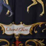 Hermes Carre Seidentuch Silk Seide Soie Cheval Turc 300(136)