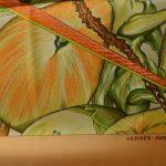 Hermes Carre Silk Seide Soie Jardin Creole Detail (2) – Kopie – Kopie