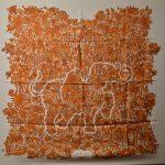 Hermes Carre Silk Seide Soie Legende Moghole (1) – Kopie – Kopie