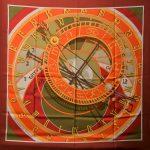 Hermes Carre Silk Seide Soie Mecanique du temps (1)