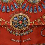 Hermes Carre Silk Seide Soie Parures des Sables (3) – Kopie