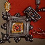 Hermes Carre Silk Seide Soie Parures des Sables (4)