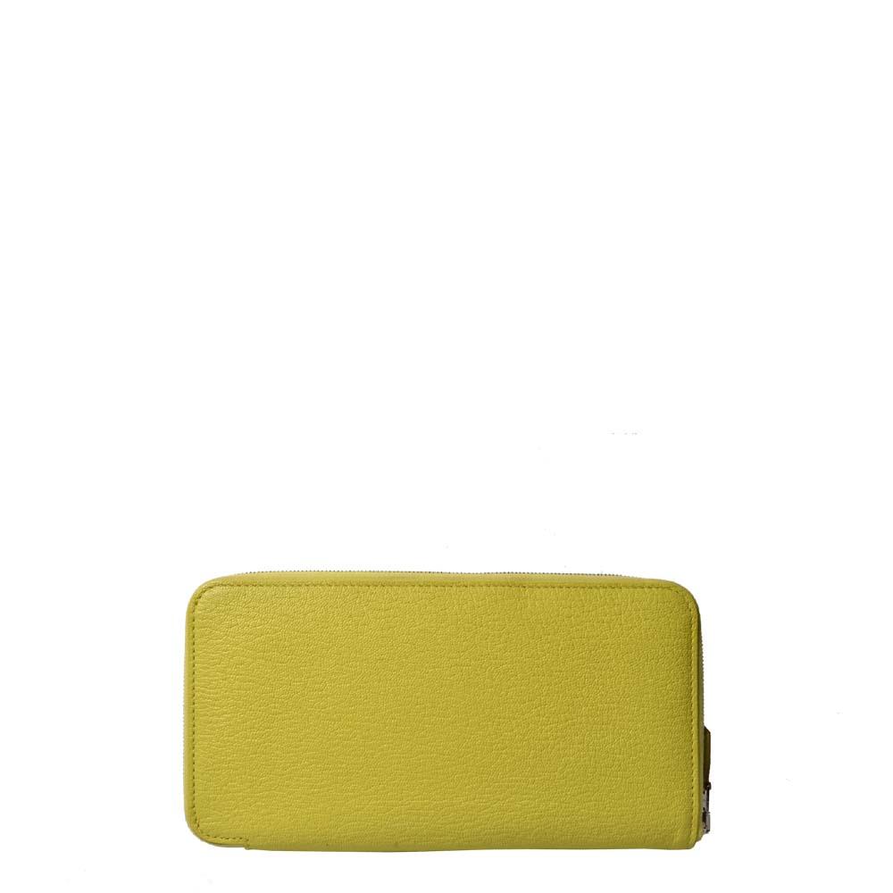 Hermes Geldbörse Azap Zip Chevre Limone PL 1.200 ( )