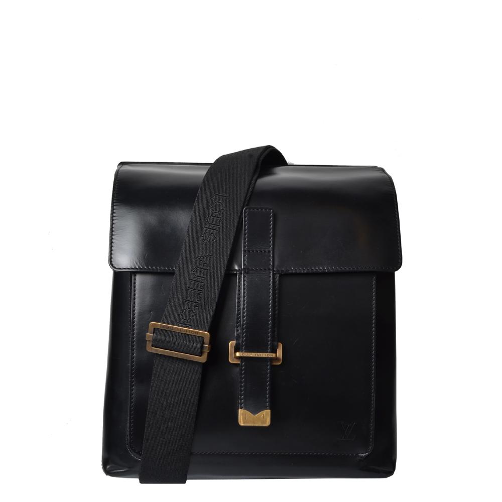 Louis Vuitton Messenger Glattleder Schwarz Limited Edition 1.200 ( ) ewa lagan secondhand frankfurt