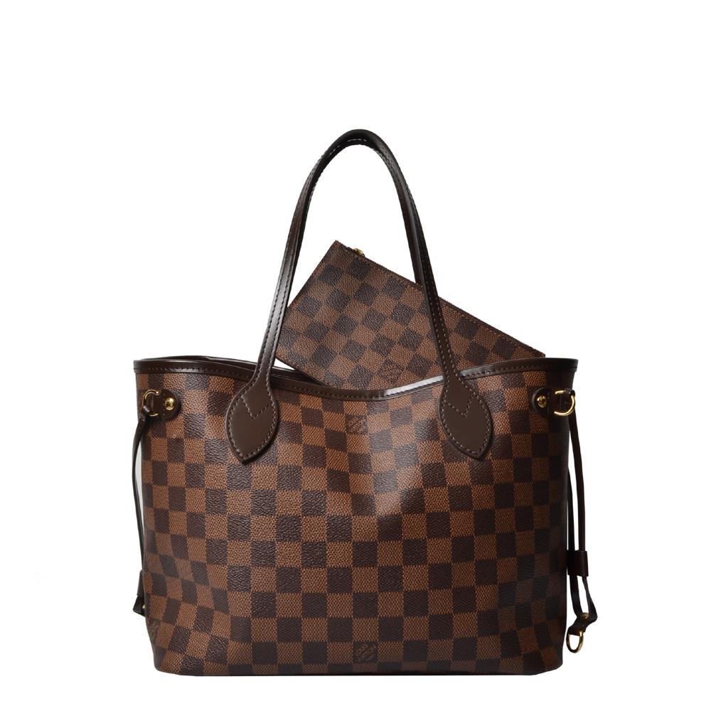 Louis Vuitton Neverfull PM Damier mit Pochette 970 ( ) Kopie