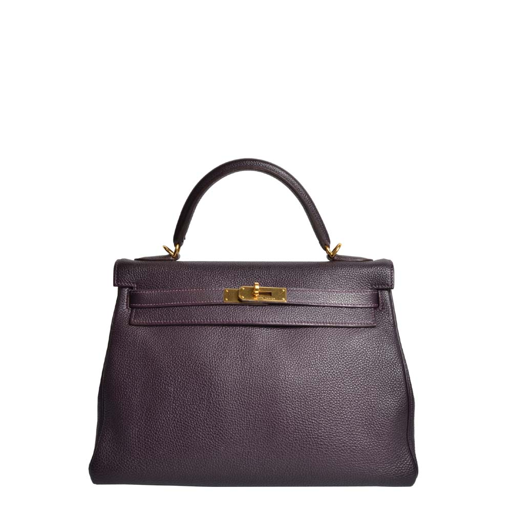 Hermes Kelly Lila Gold ( ) ewa lagan secondhand frankfurt