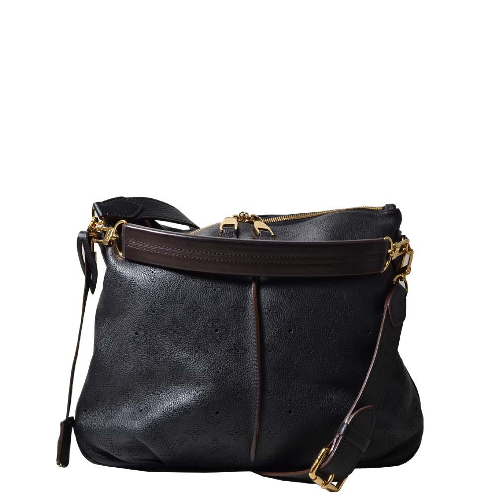 Louis Vuitton Bag Mahine Selene PM Black with bag inside ewa lagan secondhand frankfurt
