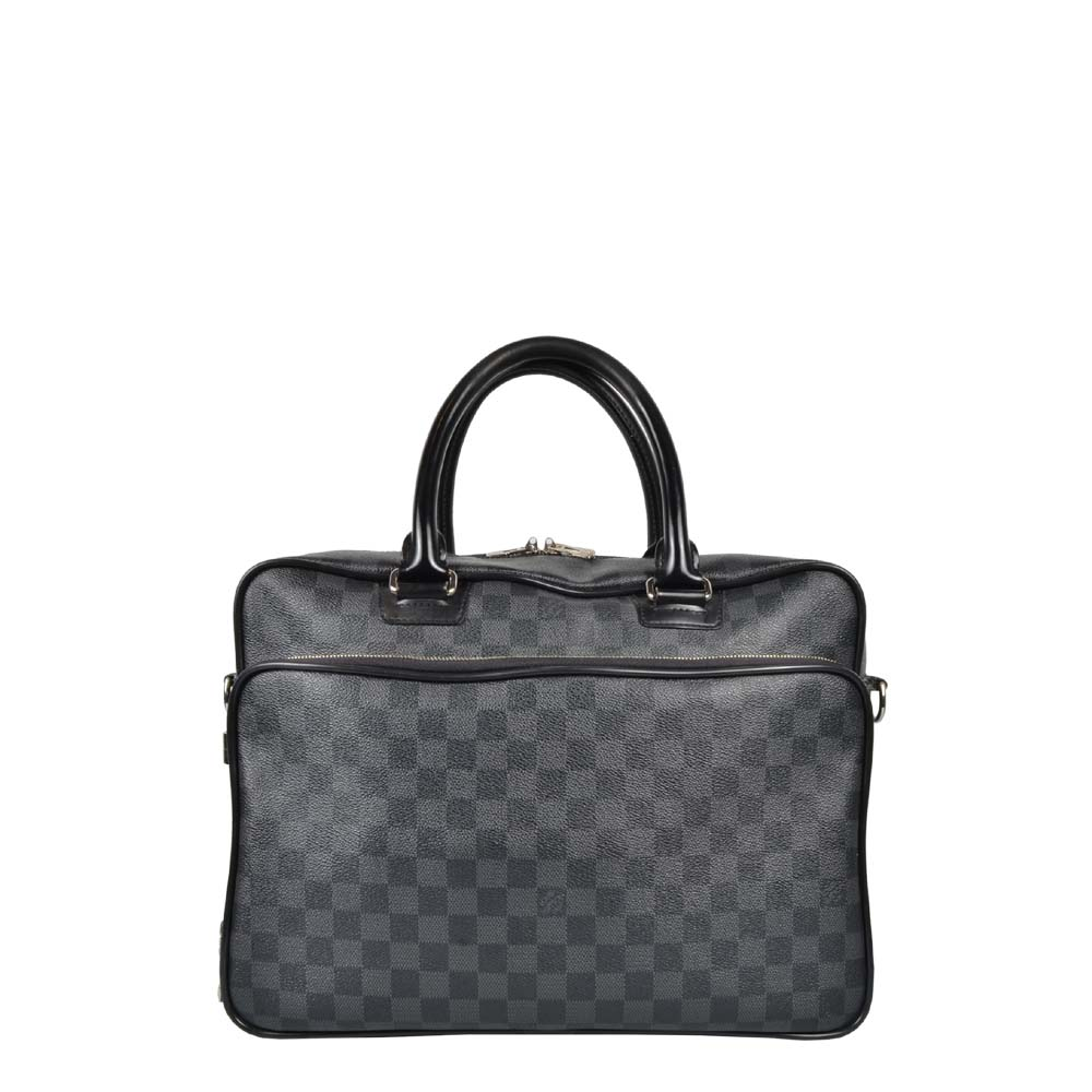 Louis Vuitton Tasche Aktentasche Damier Graphite 1.350 ewa lagan secondhand frankfurt