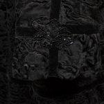 Albrecht Ollendiek Persianer Mantel schwarz black 38 (4)