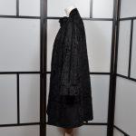 Albrecht Ollendiek Persianer Mantel schwarz black 38 (5)
