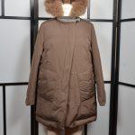 Brunello Cuccinelli Jacke Mantel Coat 38 Kaputze Fell Fur (1)