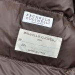 Brunello Cuccinelli Jacke Mantel Coat 38 Kaputze Fell Fur (4)