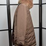 Brunello Cuccinelli Jacke Mantel Coat 38 Kaputze Fell Fur (6)