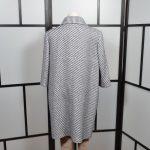 Chanel Mantel Coat blue white (7)
