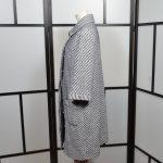 Chanel Mantel Coat blue white (8)