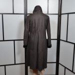 Girgio Armani Mantel coat Lambskin Lammfell 42 brown (5)