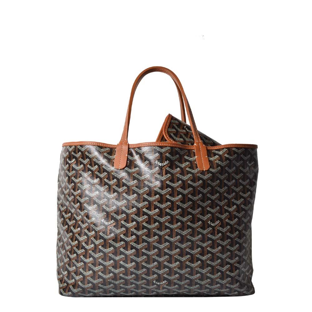 Goyard Saint-Louis Tote PM Shopping bag black tan 1.500 ( )ewa lagan secondhand frankfurt