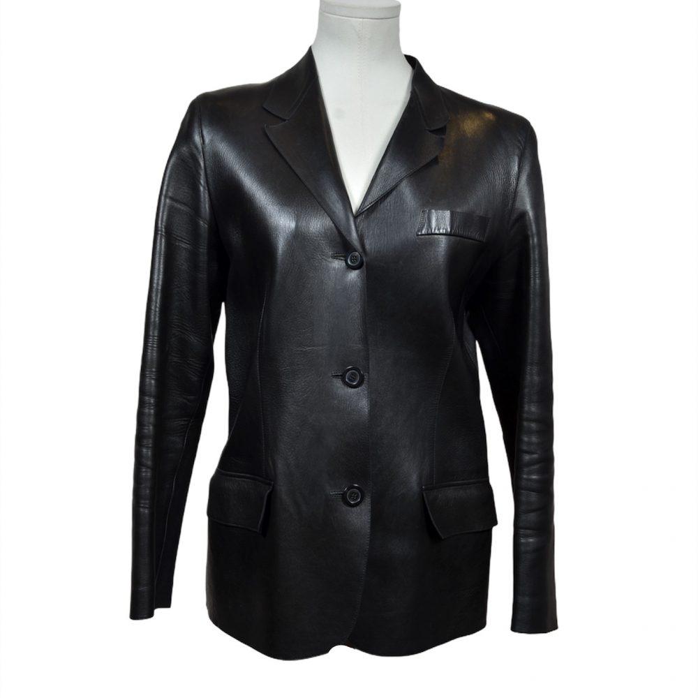 Gucci Lederjacke Leather Leder 44 600