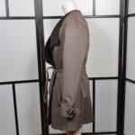Hermes Jacke Lammfell Lambskin brown brau 38 (7)