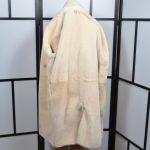 Hermes Paris Lammfel Mantel Coat Lambskin brown 38 (4)