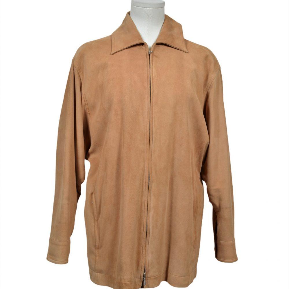 Hermes Wildleder Jacke Sude leather Jacket 38 800