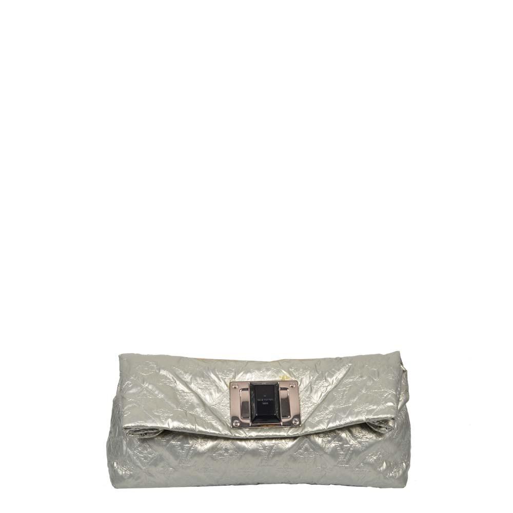 Louis Vuitton Altair Jacquard Clutch SIlber 1.200  ewa lagan ( )