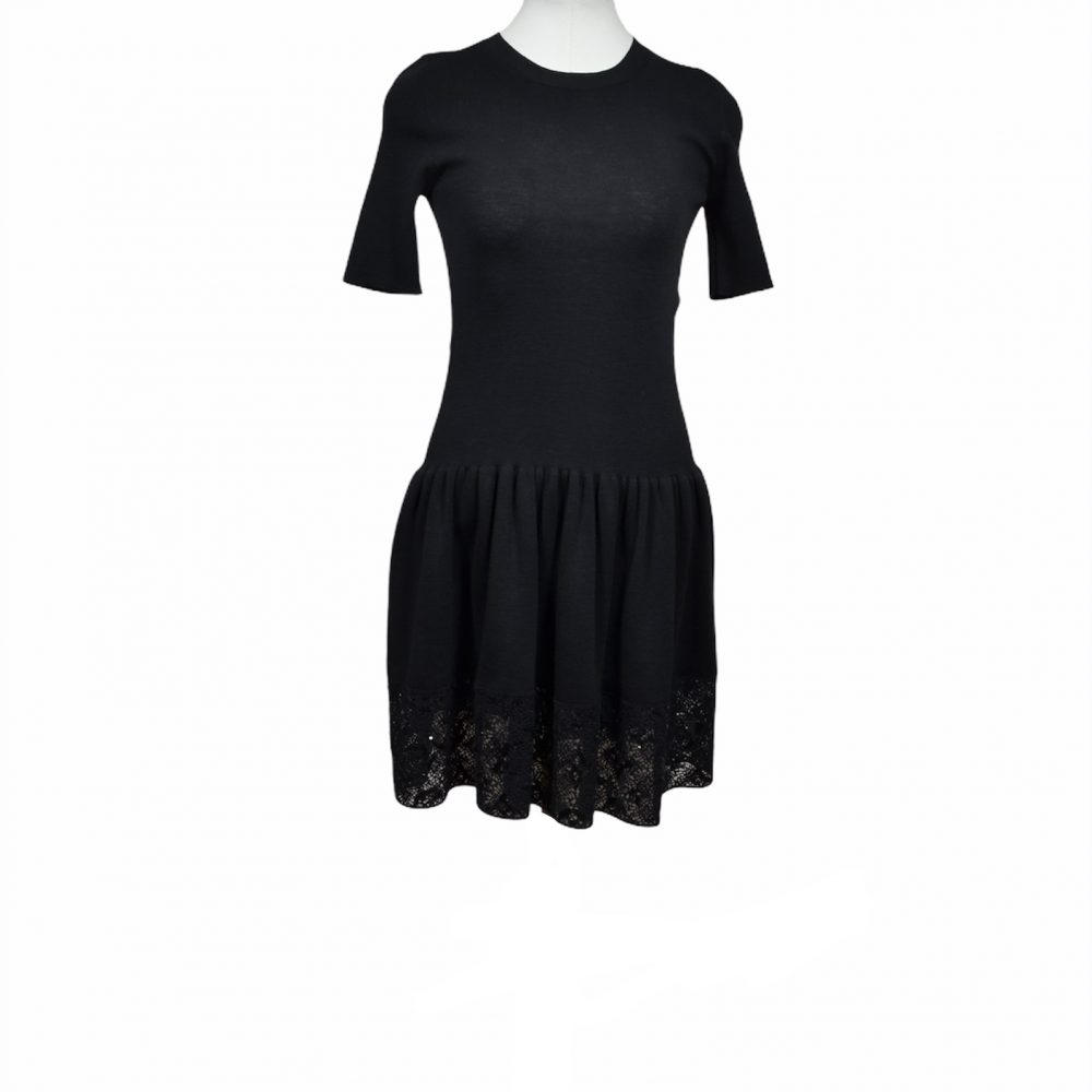 Louis Vuitton Kleisd Dress Pailletten S