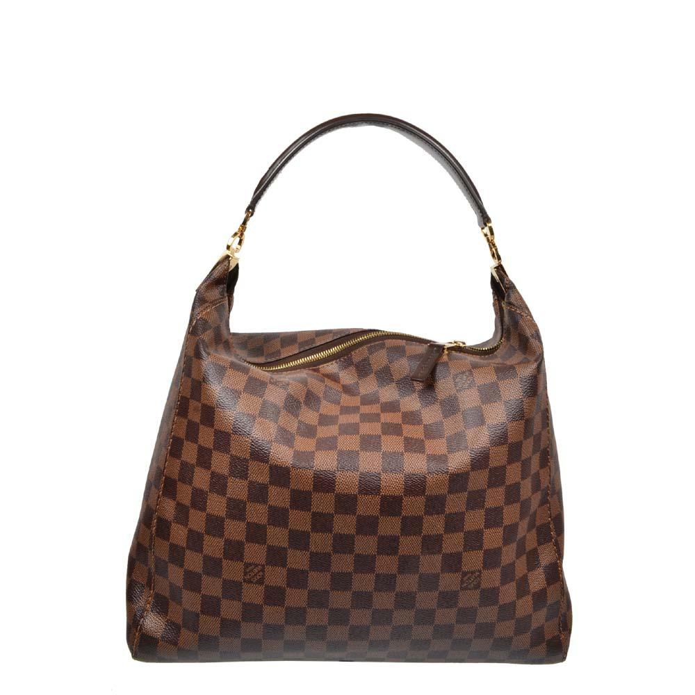 Louis Vuitton Shopper Hobo Damier Portobello GM 1.100 ewa lagan secondhand frankfurt   36x30x12 )