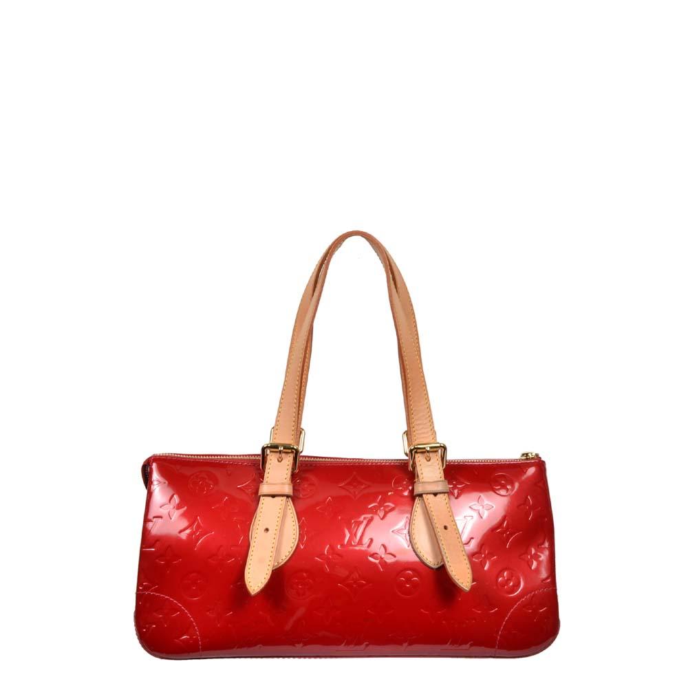 Louis Vuitton Tasche Summit Lackleder rot Vernis Monogram 800 ewa lagan frankfurt secondhand