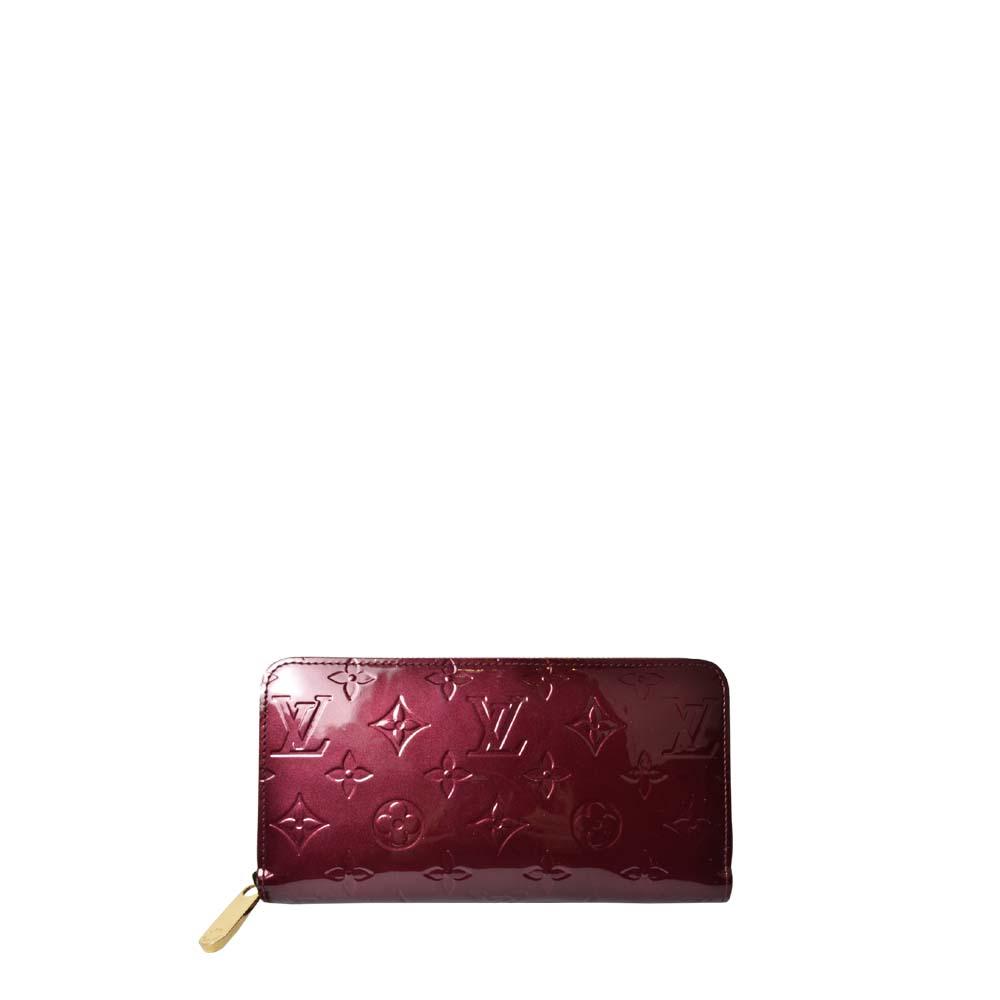 Louis Vuitton Zip Geldbörse Vernies Lackleder Amaranth 340 ( ) Kopie – Kopie