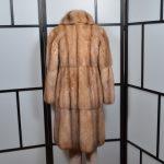 R & L Rosenberg 6 Lenhart Mantel Coat Sable Zobel Canada Pelz 34 (2)